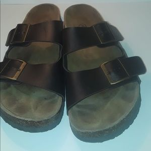 Mossimo Two Buckle Slippers